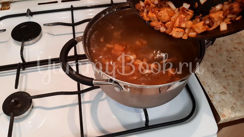 Яблочный суп со свининой - шаг 3