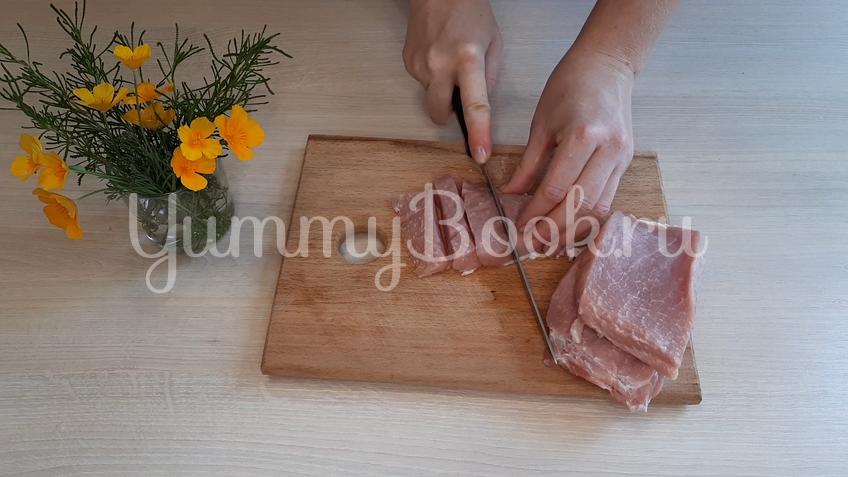Яблочный суп со свининой - шаг 1