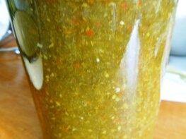 Соус ткемали из зелёной алычи