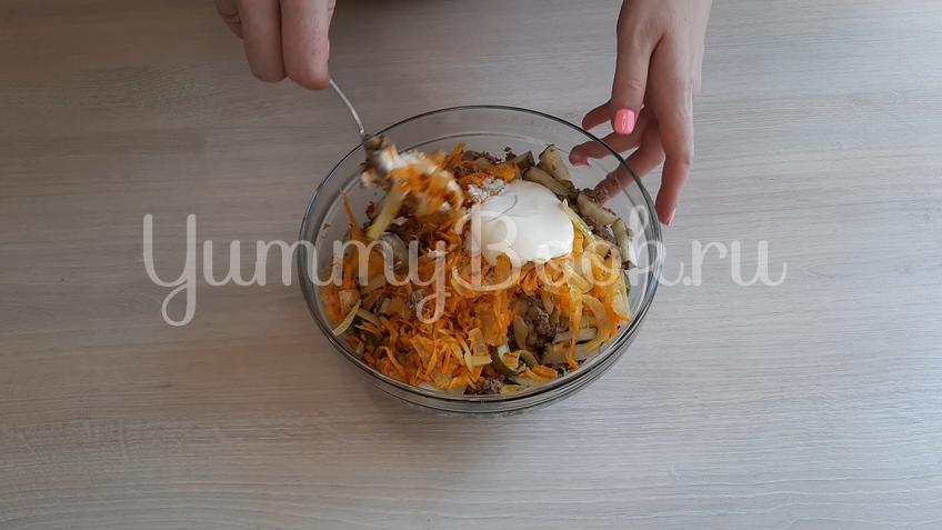 Печёночный салат - шаг 6