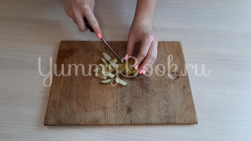 Печёночный салат - шаг 5