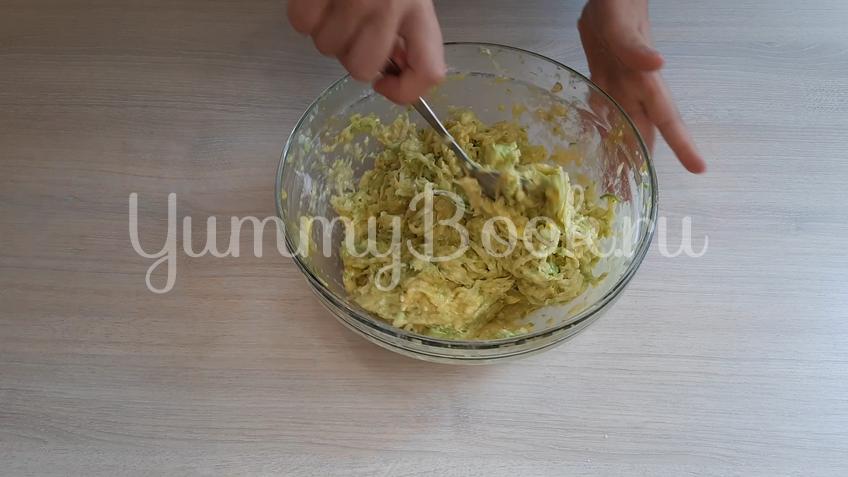 Закуска из кабачков с сыром - шаг 4