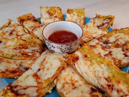 Закуска из кабачков с сыром