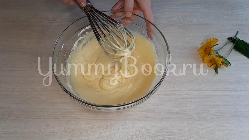 Оладушки на йогурте - шаг 7