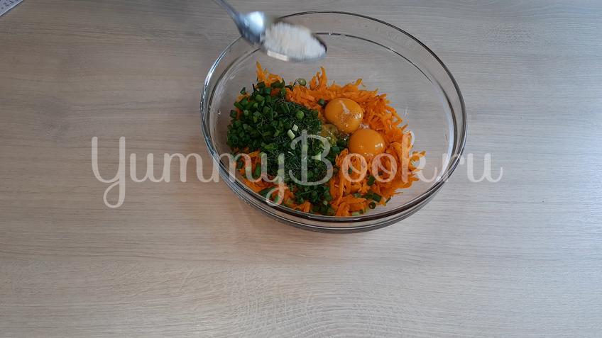 Морковный рулет с сыром - шаг 4