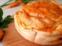 Пирог с брынзой и сыром