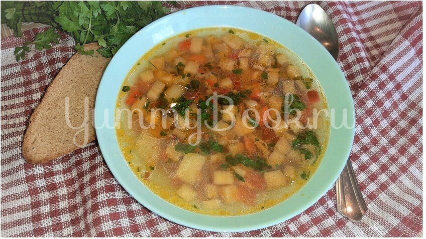 Суп с баклажанами - шаг 3