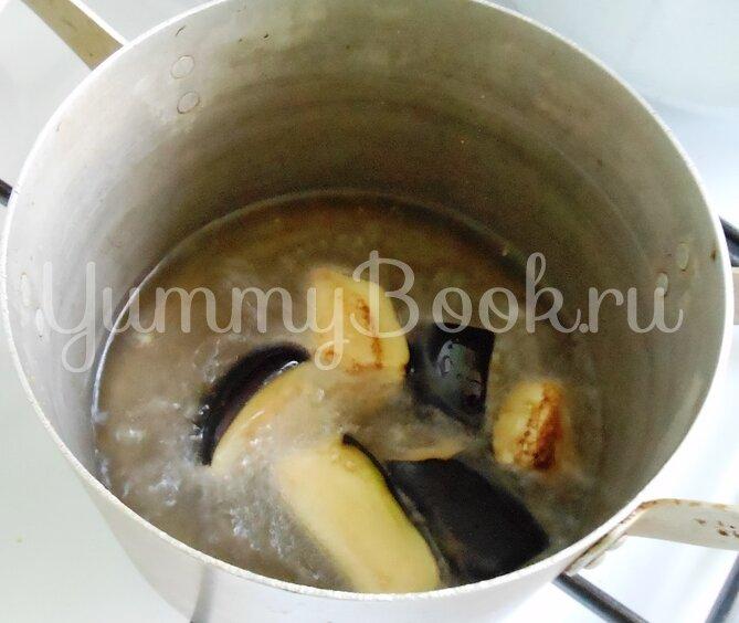 Баклажаны, консервированные с грибами - шаг 9