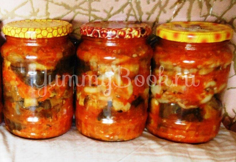 Баклажаны, консервированные с грибами - шаг 12