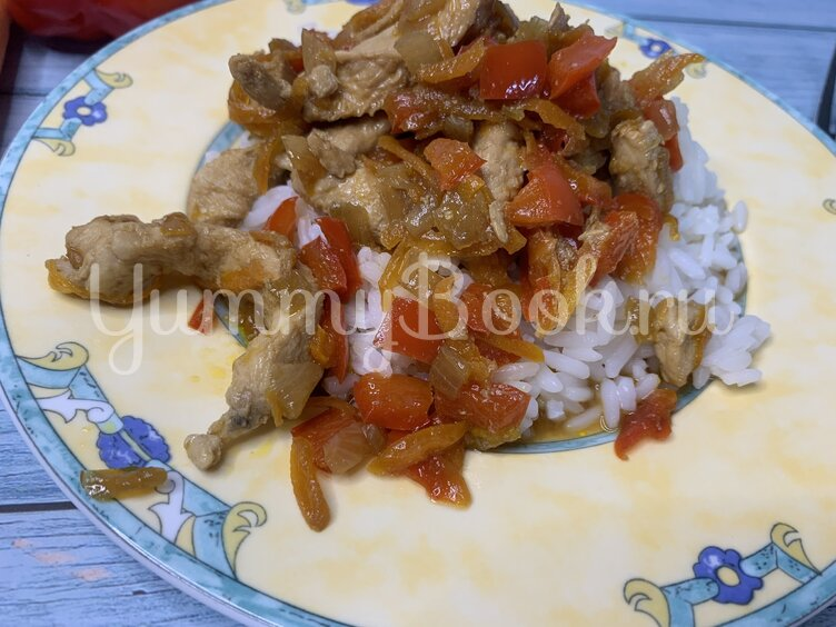 Куриное филе под соусом Терияки  - шаг 7