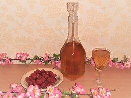 Слабоалкогольный напиток из плодов шиповника
