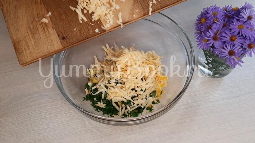 Лаваш с яйцом и сыром - шаг 3
