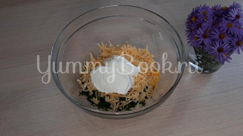 Лаваш с яйцом и сыром - шаг 4
