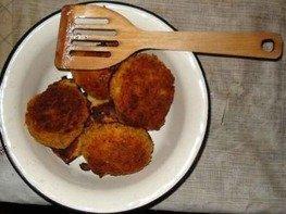 Картофельно-капустные котлетки