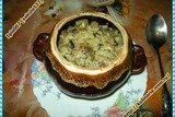 Горшечки овощные под сметанным соусом
