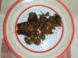 Баклажаны соленые, по-кавказски