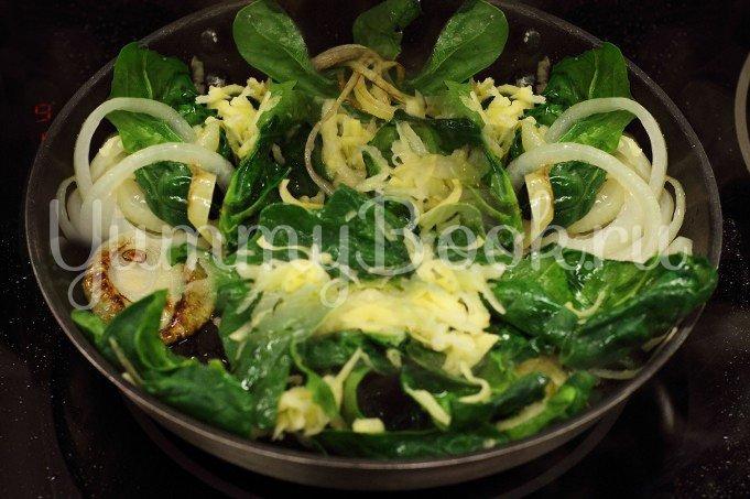 Тортилья со шпинатом - шаг 2