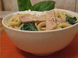 Спагетти по-флорентийски с яйцом