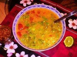 Знаменитый суп Том-Ям из Таиланда