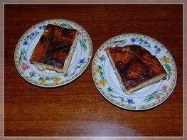 Рыбный пирог с треской