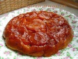 Перевёрнутый абрикосовый пирог