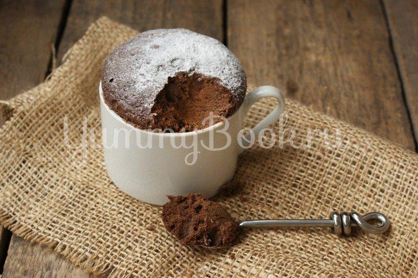 Кекс в чашке (в микроволновке)