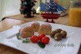 Ветчино-картофельные роллы