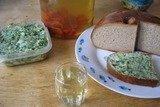 «Сало с зеленью и чесноком»