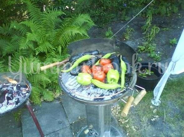Салат Азейбарджанский овощной