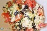 Салат из творога
