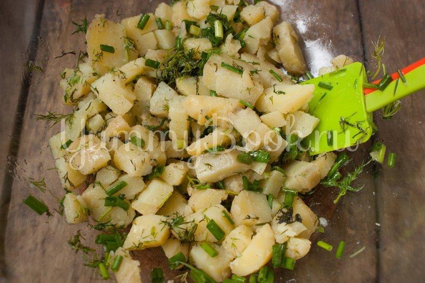 Салат Картофельный с зеленым луком - шаг 5