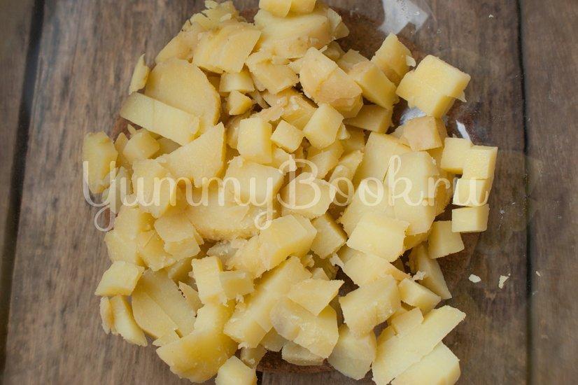 Салат Картофельный с зеленым луком - шаг 2