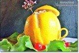 Салат Лимон фаршированный