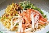 Салат с лапшой