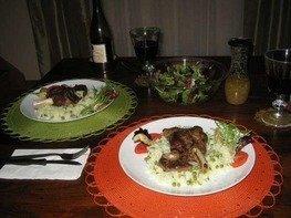 Баранья рулька (Lamb Shanks)
