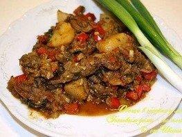 Овощи с мясом