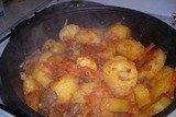 Картошка с олениной