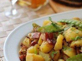 Жареный картофель по-селянски