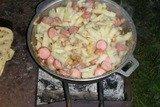 Картошечка c сосисками
