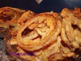 Хрустящие  луковые чипсы!