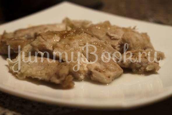 Куриное филе в лимонном соке. Китайская кухня