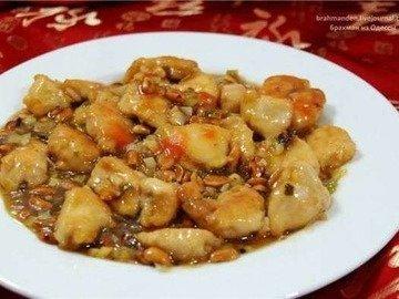 Куриное филе с арахисом (Gongbao  Jiding)