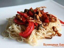 Спагетти с восточными нотками