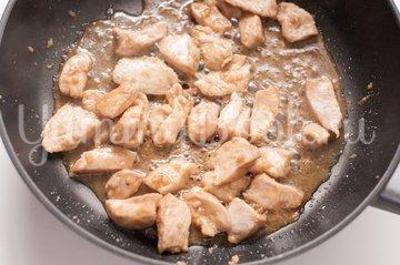 Удон домашний с курицей - шаг 6