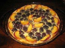 Пирог с ежевикой (Blackberry Flognarde)