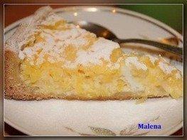 Тарт лимонно-манговый