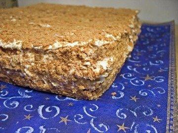 Торт - Наполеон Небоскреб, пошаговый рецепт с фото