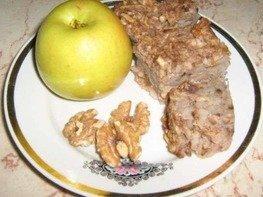 Яблочный пирог из мацы