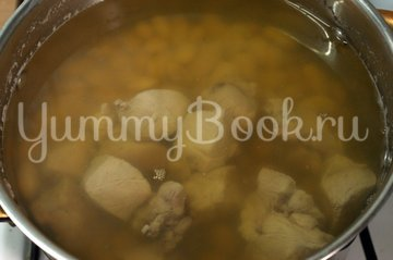 Гороховый суп со свининой, пошаговый рецепт с фото