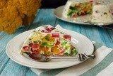 Мозаичный торт